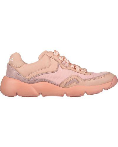 Розовые кроссовки Voile Blanche