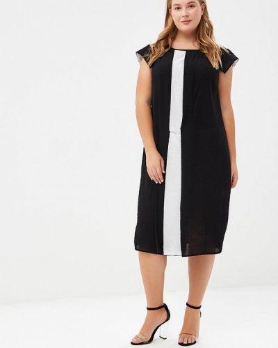 Летнее платье осеннее черное Larro