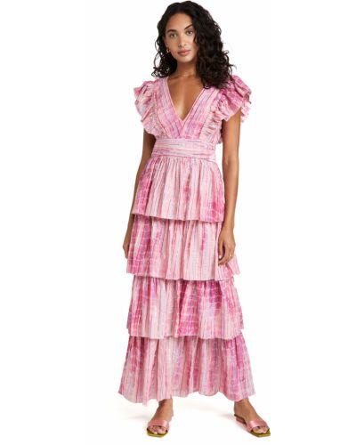 Sukienka bawełniana z printem Saylor
