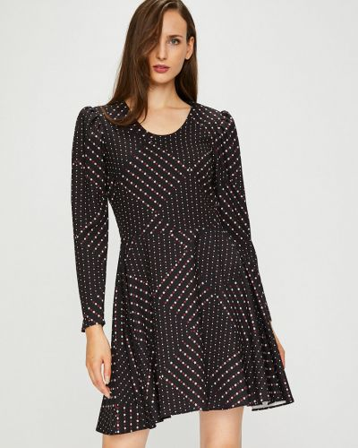 Платье мини с вырезом из полиэстера Silvian Heach