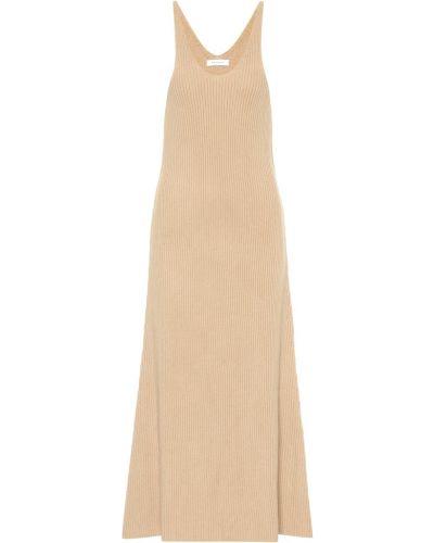 Платье макси классическое бежевое Ryan Roche
