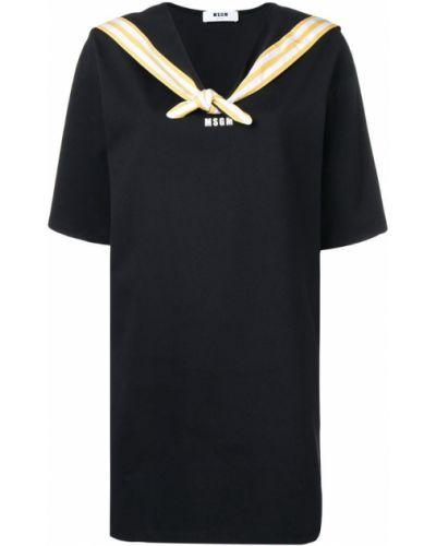 Платье мини морское с принтом Msgm