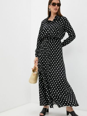 Черное платье рубашка Trendyangel