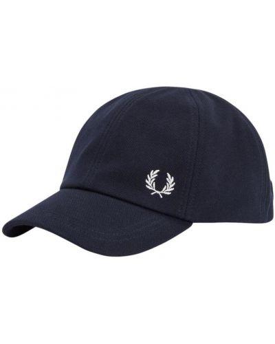 Niebieska czapka z daszkiem Fred Perry