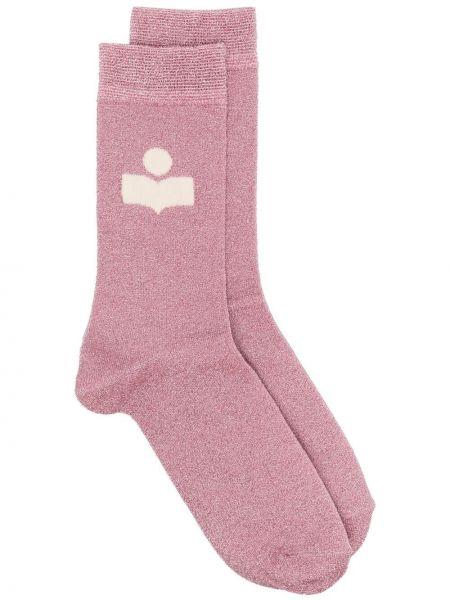 Розовые носки Isabel Marant