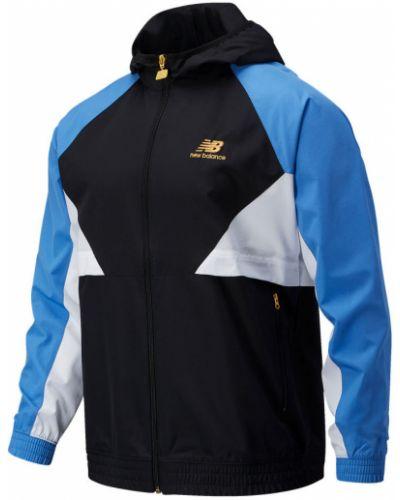Синяя куртка на молнии с карманами New Balance