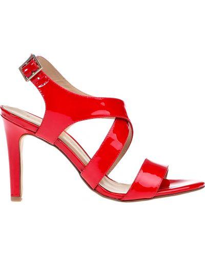 Кожаные босоножки - красные Bruno Premi