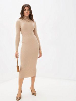 Вязаное платье - бежевое Missguided