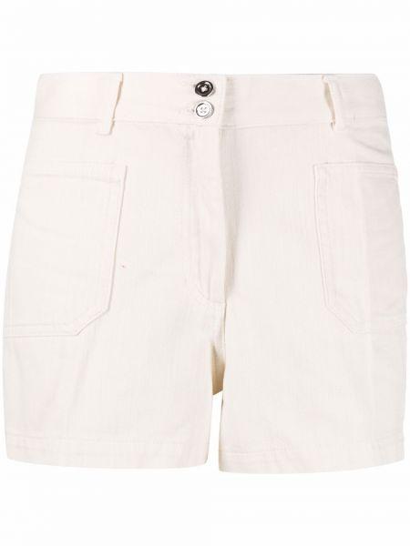 С завышенной талией хлопковые шорты с карманами A.p.c.