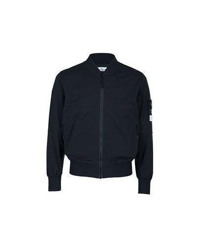Черная куртка из полиэстера Stone Island