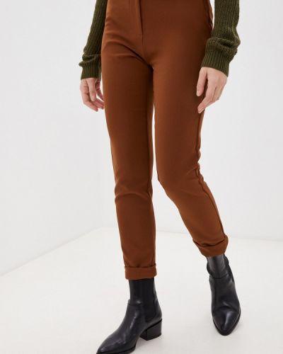 Повседневные коричневые брюки Please