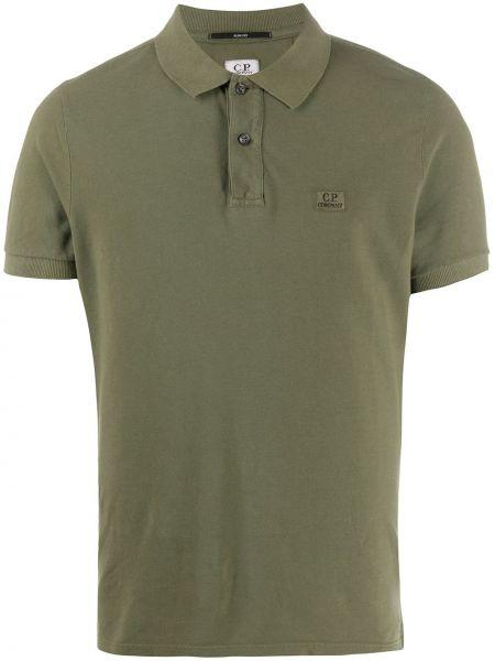 Koszula krótkie z krótkim rękawem klasyczna wojskowy C.p. Company