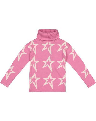 Wełniany różowy sweter Perfect Moment Kids