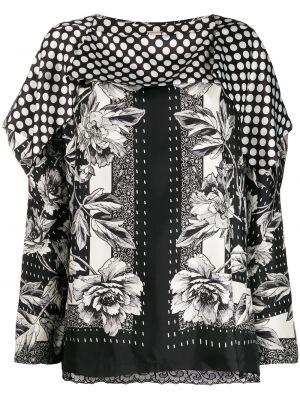 Блузка с длинным рукавом в полоску батник Antonio Marras