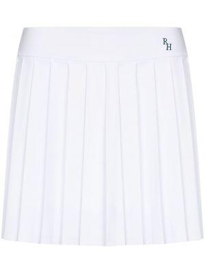 Spódnica plisowana - biała Recreational Habits