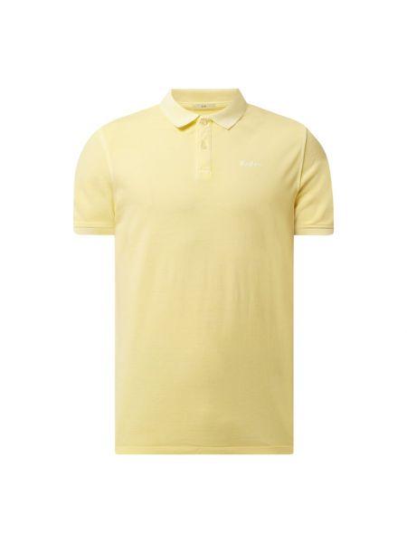 Żółty t-shirt bawełniany Pepe Jeans