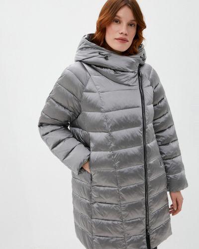 Теплая серая куртка Dixi Coat