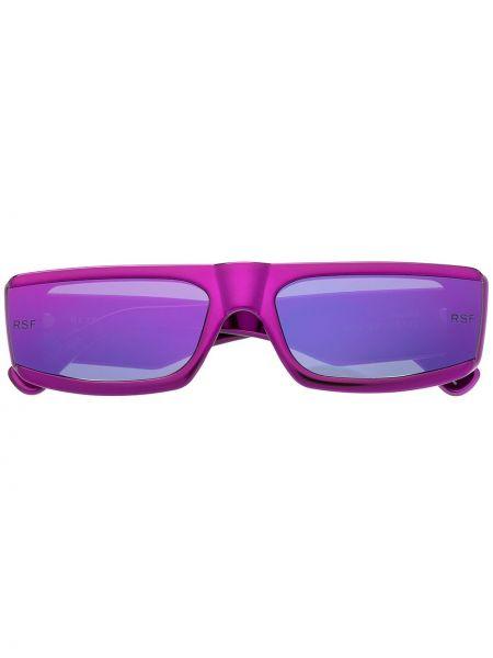 Różowe okulary z printem Retrosuperfuture