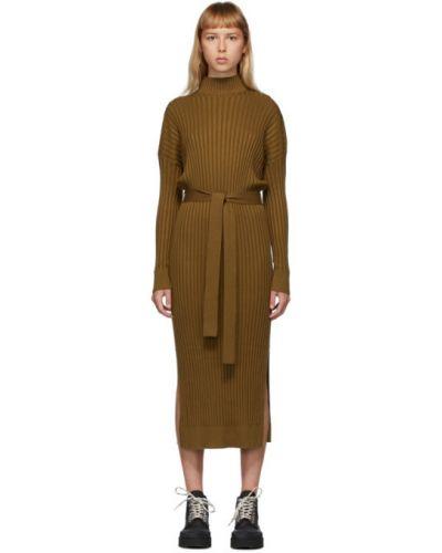 Платье макси на пуговицах вязаное Proenza Schouler