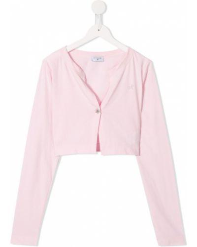 Кардиган розовый Monnalisa