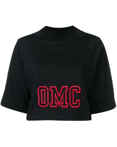 Черная толстовка Omc