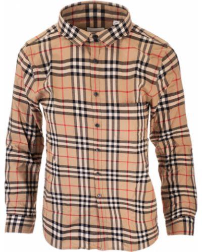 Beżowa koszula na lato Burberry