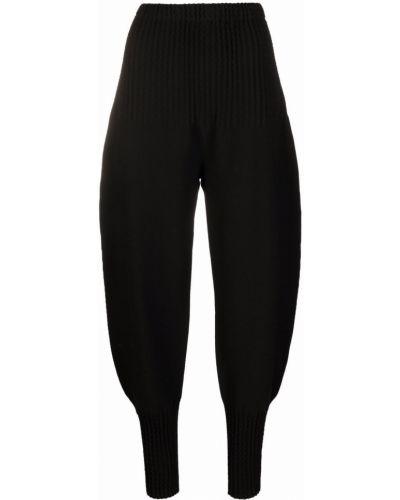 Spodnie bawełniane - czarne Issey Miyake
