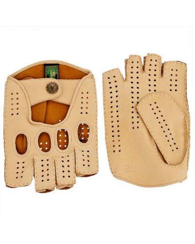 Кожаные перчатки бежевый Alpa Gloves