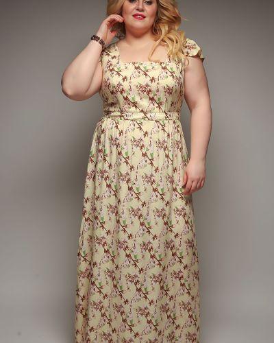 Платье из штапеля Jetti-plus