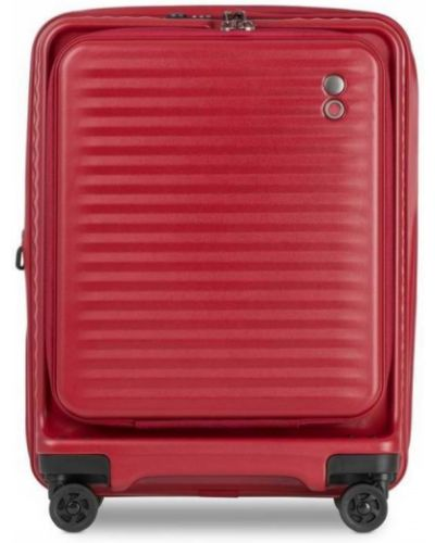 Walizka kabinowa materiałowa - czerwona Echolac