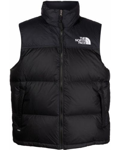 Черная жилетка с вышивкой The North Face