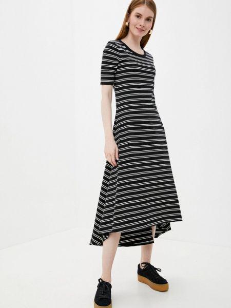 Черное повседневное платье Gap