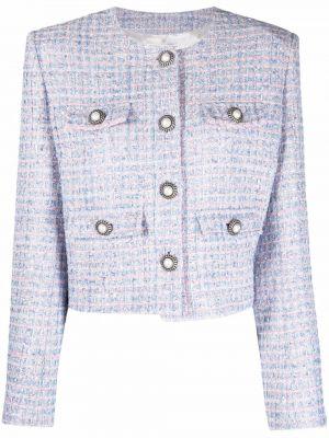 Розовый шерстяной пиджак Alessandra Rich