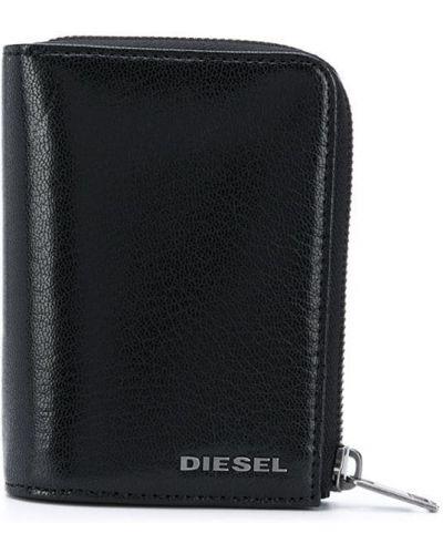 Черный кошелек для монет Diesel