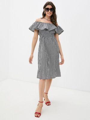 Серое платье Defacto