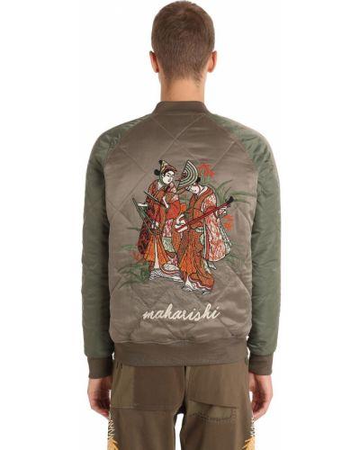 Пиджак с карманами на молнии Maharishi