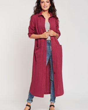 Платье с поясом на пуговицах сафари D`imma Fashion Studio
