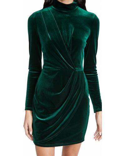 Черное платье мини с длинными рукавами с подкладкой Black Halo