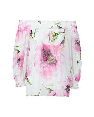 Блузка из полиэстера - розовая Blugirl