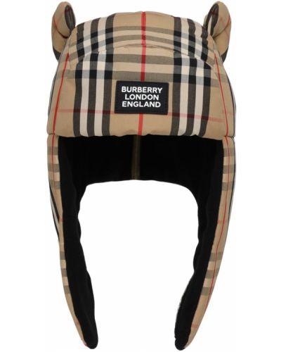 Bawełna bawełna kapelusz z łatami Burberry