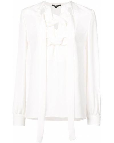 d0f9ff48e5e Farfetch. Блузка с длинным рукавом из крепа свободного кроя Derek Lam