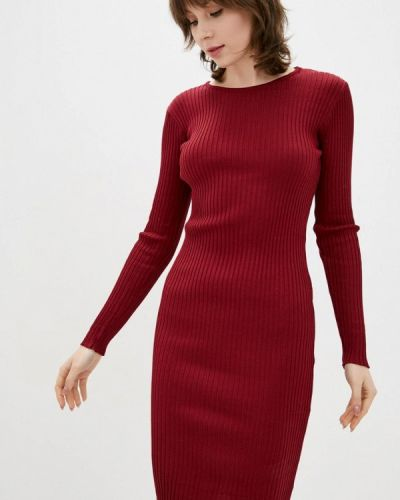 Красное платье-свитер Dasti