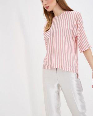 Блузка с коротким рукавом розовая весенний Eliseeva Olesya