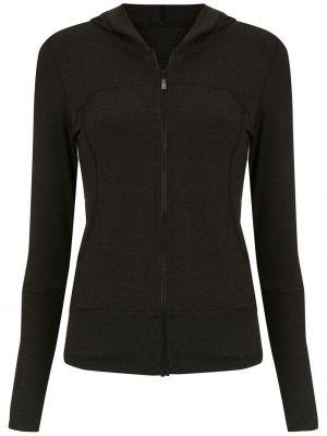 Черная спортивная куртка с капюшоном на молнии Track & Field
