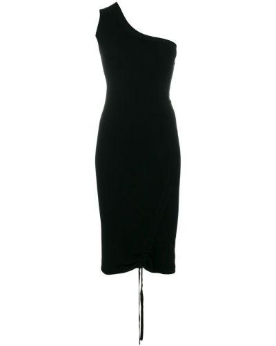Платье приталенное на одно плечо T By Alexander Wang