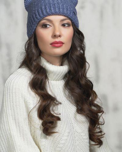 Синяя шапка шерстяная Vay