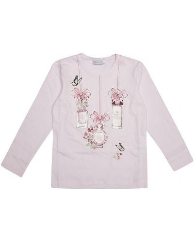 Różowa t-shirt Monnalisa