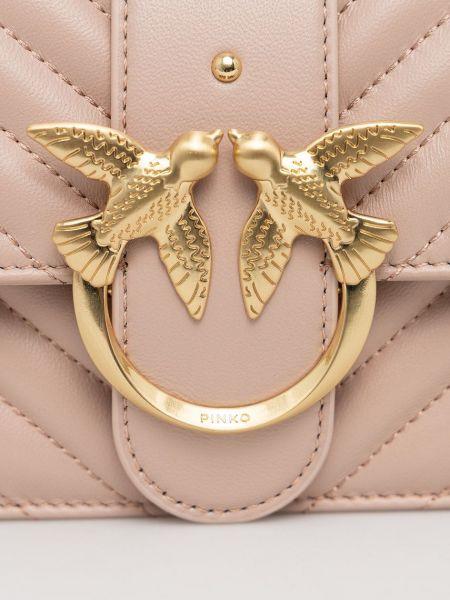 Кожаная сумка через плечо Pinko