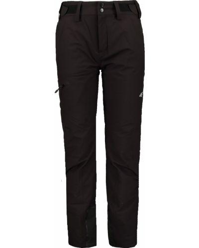Czarne spodnie materiałowe 4f