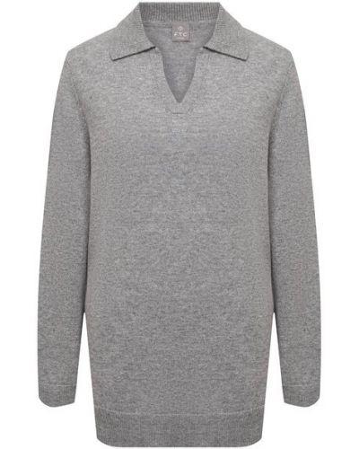Серый трикотажный пуловер Ftc